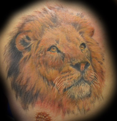 Farbe im blut tattoocover up limbach oberfrohna for Marc anthony neck tattoo